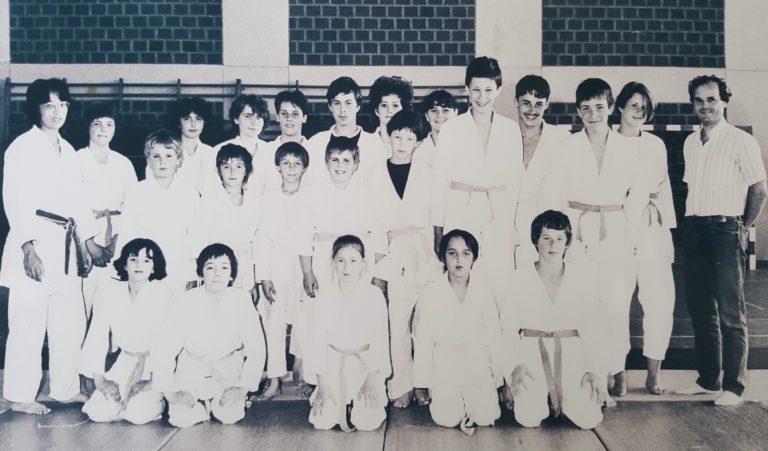 Photo Judo groupe 1985