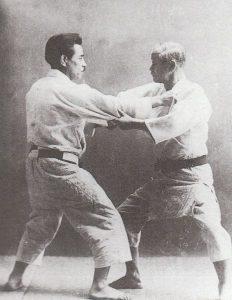 photo_combat_Jigorō Kanō